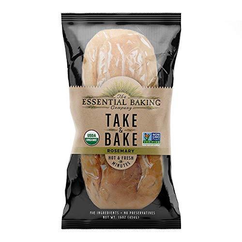 Organic Take & Bake Bread - 16 Count Case (Sourdough)