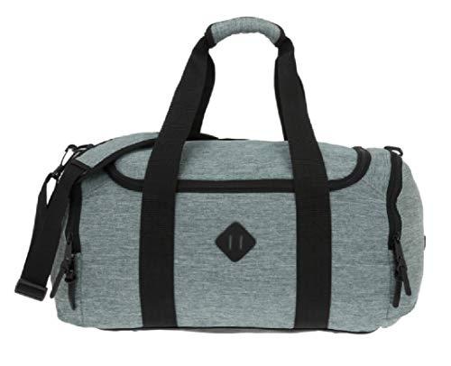 Dernier Black Hawk Sporttasche Fitnesstasche Tasche Freizeittasche 53709 (Hellgrau)