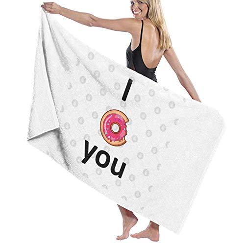 U/K Donut - Toalla de baño (secado rápido)