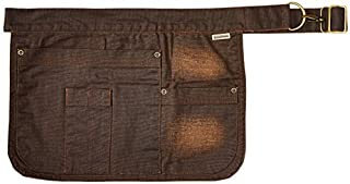 Chef Works Unisex Indy Hipster Apron, Chocolate One Size