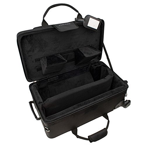Protec Trumpet/Auxiliary Combo PRO PAC Case with Wheels, Model PB301VAX