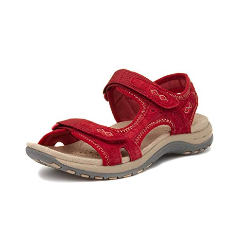 Earth Spirit Frisco Women's Sandals - SS21-10 - Red