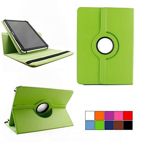 COOVY® 2.0 360° Rotation Cover Universal für alle 7/8 / 8.4 Zoll Tablet Modelle Hülle Tasche Etui Hülle Schutz Ständer | UNIVERSAL 7/8 grün