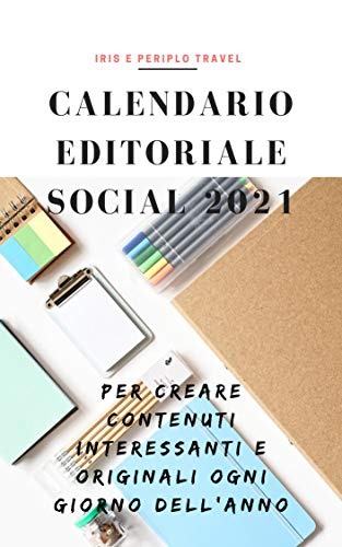 Amazon.com: Calendario Social degli Eventi 2021 (Italian Edition