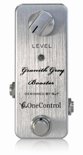 One Control ワンコントロール エフェクター クリーンブースター Granith Grey Booster