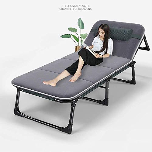 WXF Cama Plegable Cama Individual Acampar Al Aire