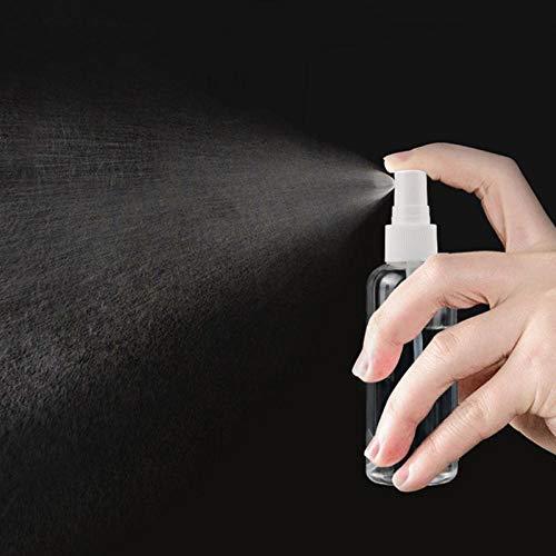 pulvérisateur flacon de pulvérisateur en plastique Flacon pulvérisateur en plastique réutilisable Convient aux à la cuisine, à la salle de bain et aux produits de nettoyage 100ML-5 pièces