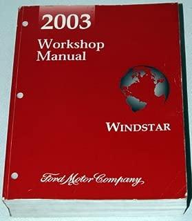 Best 2003 ford windstar repair manual Reviews