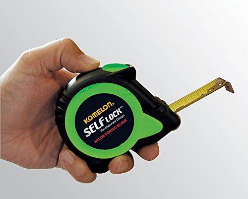 Komelon SL2825 Self Lock 25-Foot Power Tape