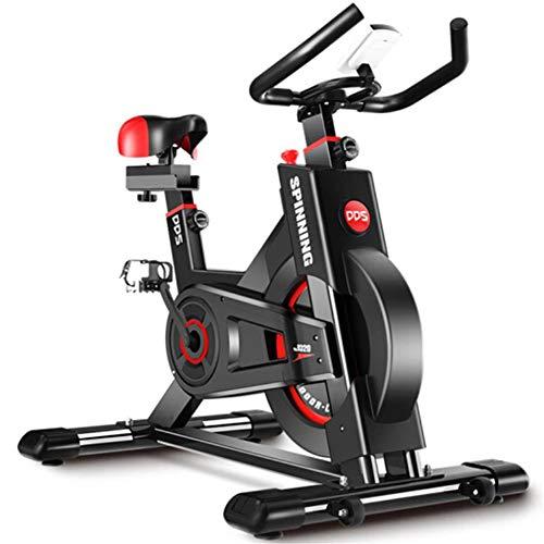 Lcyy-Bike Bicicletta Trainers Manuale Resistenza Regolabile 8 kg Volano Cardio Workout con Display Multifunzionale Manubrio Regolabile E Altezza del Sedile