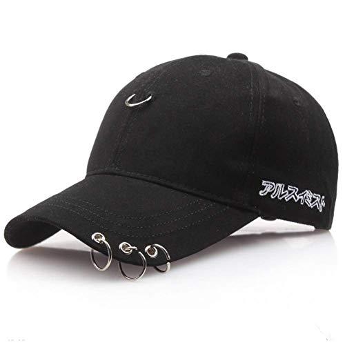 Modischer Hut Frühling und Sommer Herbst Eisen Reifen Baseballmütze Baumwolle beschriftet Cricket-Mütze Hut für Männer und Frauen Sporthut