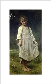 William Adolphe Bouguereau 12x20 Art Print - The Curtsey