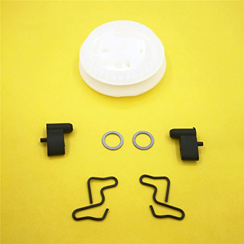 Cancanle 2 Sets in 1 Recoil Starter Pulley Pawl Hond Washer Reparatie Kit Voor STIHL Kettingzaag 017 018 MS170 MS180 MS230 MS250 MS210 021 023 025 Onderdelen
