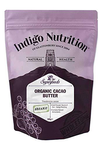 Indigo Herbs Manteca de Cacao Orgánico 500g