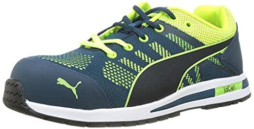 PUMA Safety Unisex Pu643170-43 Leichtathletik-Schuh, blau-grün, 43 EU