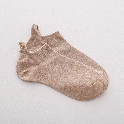 RMI Sokken Vrouw Lente 1 Paar Sokken Meisjes Katoen Kleur Nieuwigheid Lady Mode Leuke Hart Casual Vrouwen Sokken, als foto, Een Maat