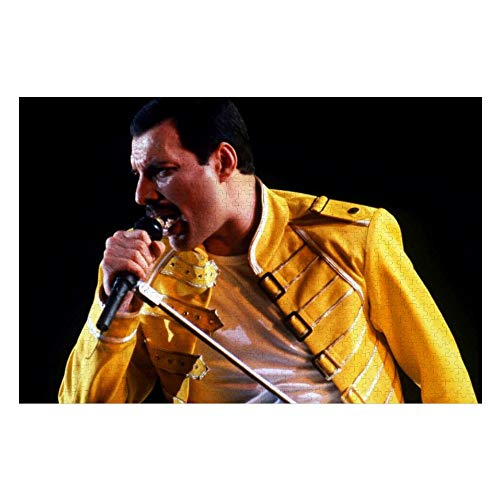 Docmom Wooden Puzzle Games Freddie Mercury Pop Air Wallpapers 1000 Piece Jigsaw Puzzle,Wooden Puzzle,Jigsaw Puzzles