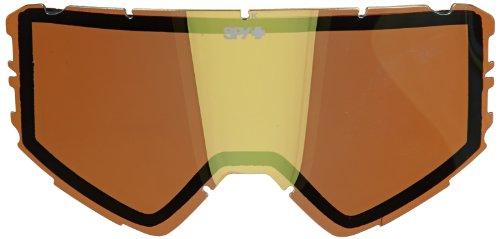 Spy Snowboard Goggle Ersatzglas Raider, Bronze W/Gold Mirror, One size, SPYSPL_RAI
