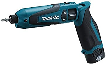 Makita TD021DSE - Atornillador De Impacto Recto 7.2 Litio-Ion 1.0 Ah 2300 Rpm 22 Nm Insercion 1/4 Hexagonal