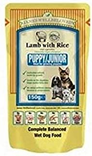 James Wellbeloved Puppy Food Pouches with Lamb & Rice m (150g) (Pack of 2)