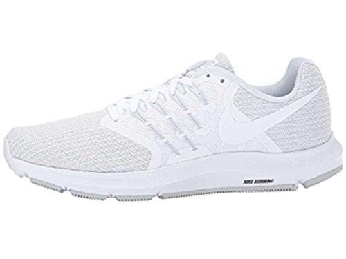Nike Mujeres Run Swift Running Trainers 909006 Sneakers Zapatos (UK 5.5 US 8 EU 39, White Pure Platinum 100)