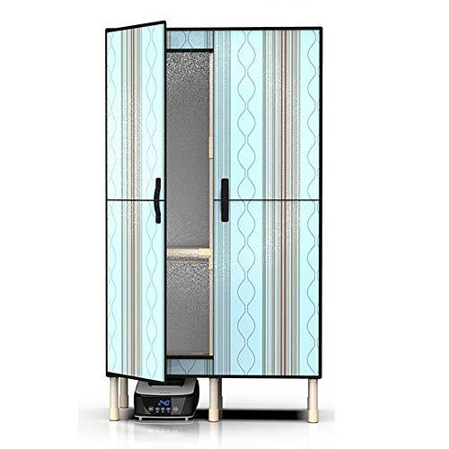 QQNB Económico Portátil Secadora de Ropa Eléctrica,Puerta Plegable Secador,Tendedero,1300W de Ahorro de Energía,Alta Carga (20kg),con 240min de Temporizador de Perilla