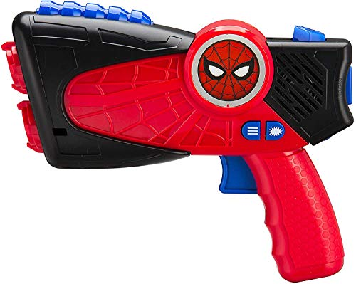 Spiderman Laser Tag Blasters per Bambini con luci a infrarossi e vibra Quando Si Colpisce
