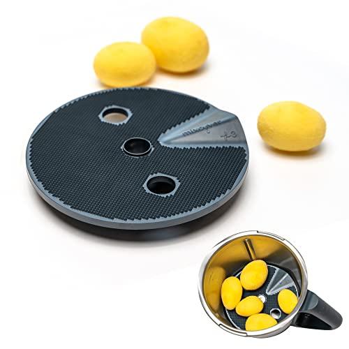 mixcover Kartoffelschäler Veggi Schäler-Aufsatz kompatibel mit dem Thermomix TM6 / TM5 / TM31 - Kartoffeln, Gemüse, Obst schälen - Peeler - thermomix zubehör