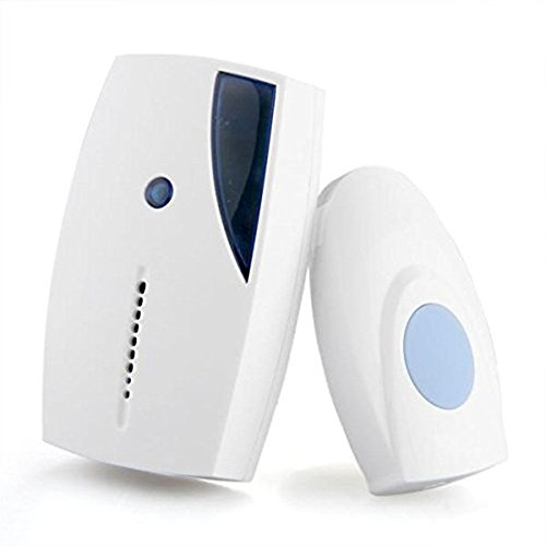 jieGREAT🎄❄ Die Türklingel ❄ Drahtlose Türklingel 36 Chime Home Cordless Portable 100M Range Digital Doorbell