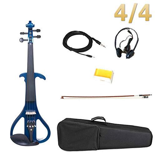 SUNXK Accesorios de ébano for violín eléctrico de tamaño 4/4 tamaño Derecho...