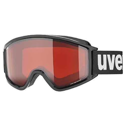 uvex Unisex– Erwachsene, g.gl 3000 LGL Skibrille, black, one size
