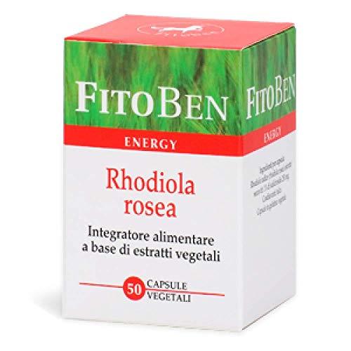 Rhodiola rosea Integratore alimentare naturale tonico adattogeno per la stanchezza psicofisica 50 cps