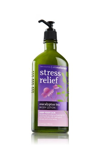 Bath & Body Works Aromatherapy Stress Relief Eucalyptus Tea Body Lotion 6.5 Oz.