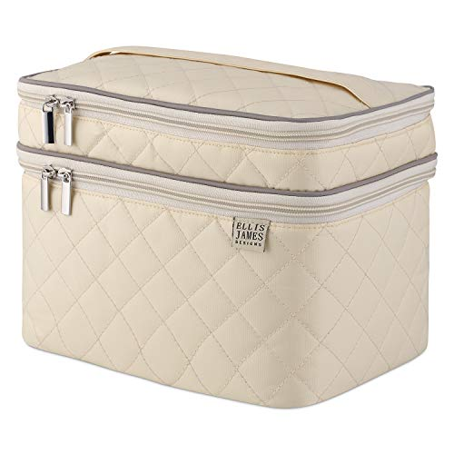 Ellis James Designs Large Travel Makeup Bag