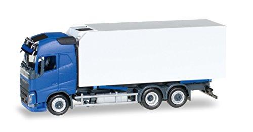 herpa 307079 - Fahrzeug, Volvo FH Gl. Kühlkoffer-LKW, blau/weiß