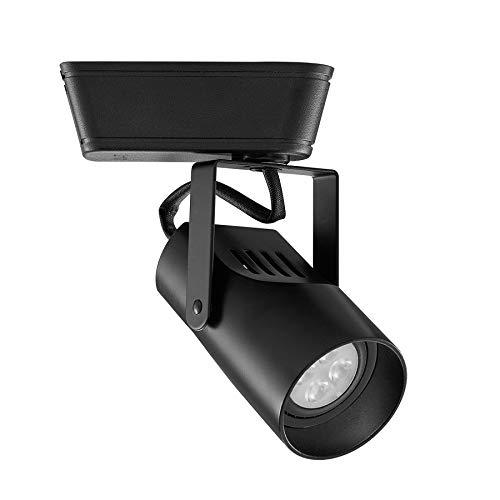 WAC Lighting JHT-007LED-BK Low Voltage - 120V Track Luminaire, J Track