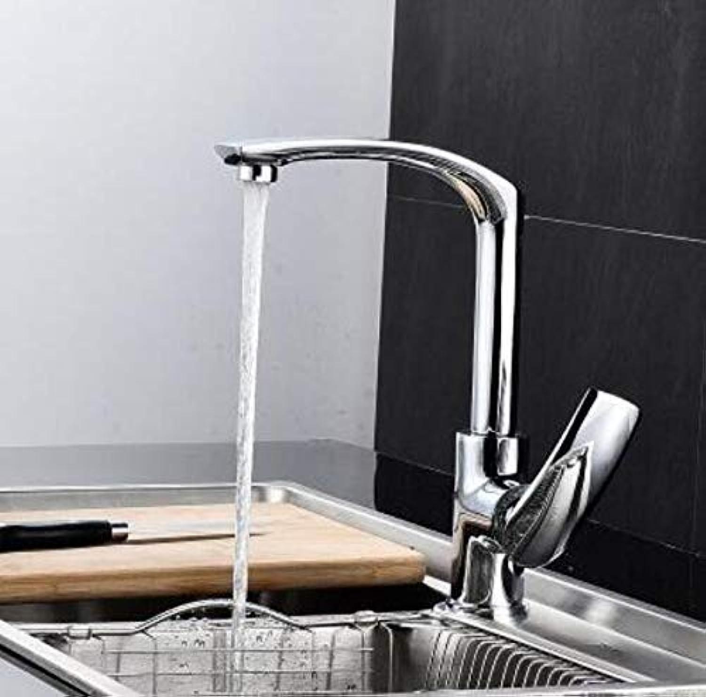 Oudan Bunte Küchenarmatur Mixer Deck montiert Becken Kurze Wasserhhne zeitgenssische Kupfer Becken Wasserhahn warm und kalt rotierenden Mixer Xt-82, ich (Farbe   A, Gre   -)