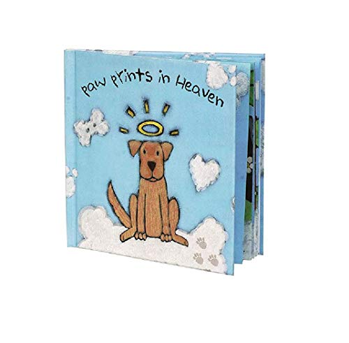 Paw Prints In Heaven Hardcover Pet Memorial Children's Book from Dog Speak