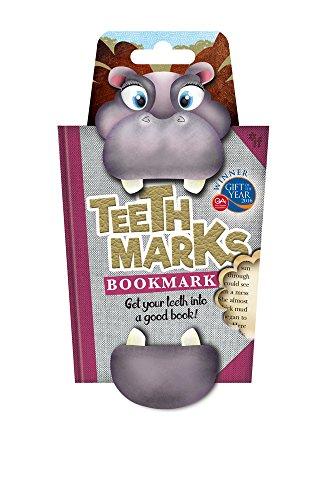 Teeth-Marks Bookmarks-Hippo