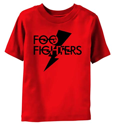 Foo Fighters 'Logo' (Red) Toddler T-Shirt (12-18 Months)