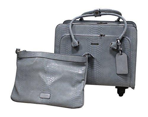 Simply Noelle Nile Roller Bag (Light Denim)