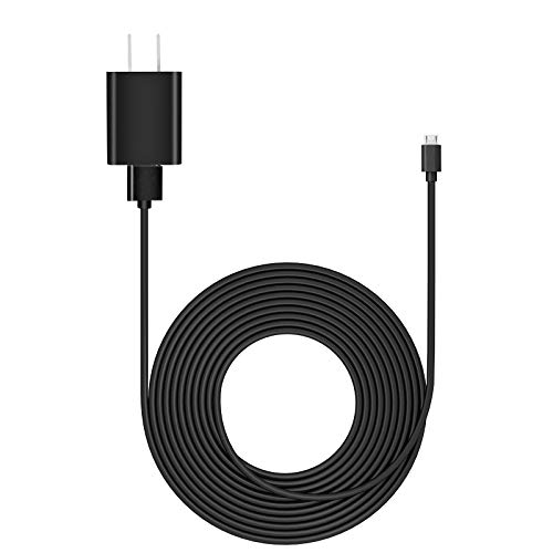 Kids Fire Tablet Charger with 6.5Ft Type C and Micro USB Cable Replacemet for Amazon Fire HD 7 8 10 Kids Edition,Kindle Kids Edition,Amazon Kids Kindle Charger -Black