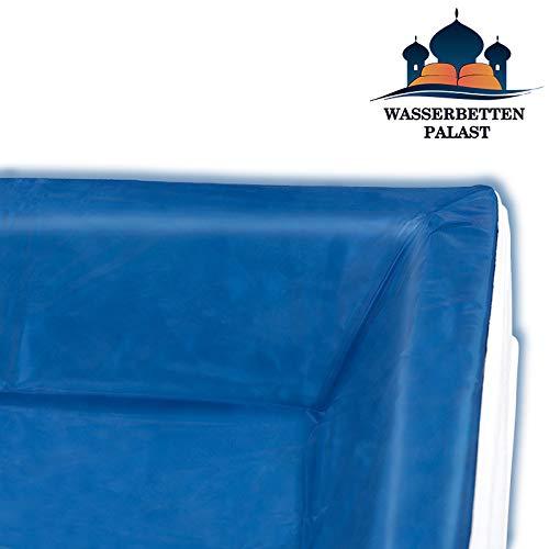 Liner - Vinyl-Schutzfolie für RWM Aqua Classic - die Schutzwanne für Ihr Wasserbett - Höhe innen: 20-23 cm keilförmig - alle Wasserbettgrößen z.B. 160x200 cm
