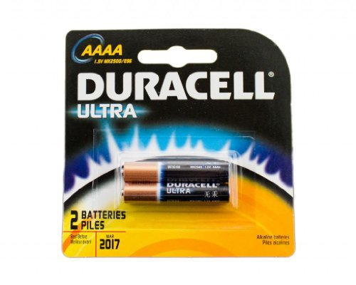 Duracell MX2500B2PK Photo Batteries, Size AAAA (2 Batteries) - Pack of 3