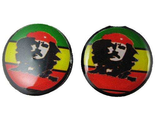 Ohrringe Stecker Ohrstecker federleicht Kunststoff Che Guevara Kuba Revolution 2659