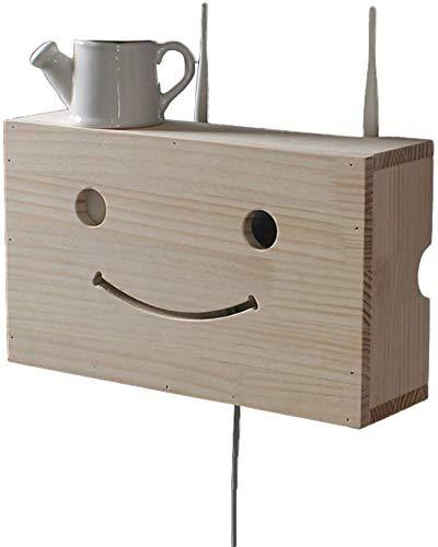 MEIXIAN Opslag plaatsing Draadloze Router Opbergdoos Wandmontage Wifi Occlusion Box, Wandplank Set-top Box Plank