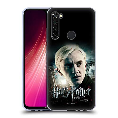 Head Case Designs Licenciado Oficialmente Harry Potter Draco Malfoy Deathly Hallows VIII Carcasa de Gel de Silicona Compatible con Xiaomi Redmi Note 8T