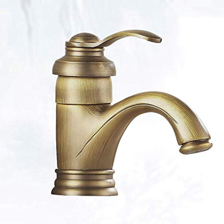 Taps Faucet Antique Teapot Hot and Cold Faucet Retro Basin Basin Single Handle Single Hole Faucet