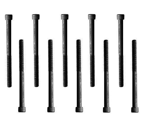 Socket Head Cap Screw, 1/4-20 x 3', Alloy Steel, Black Oxide, Hex...