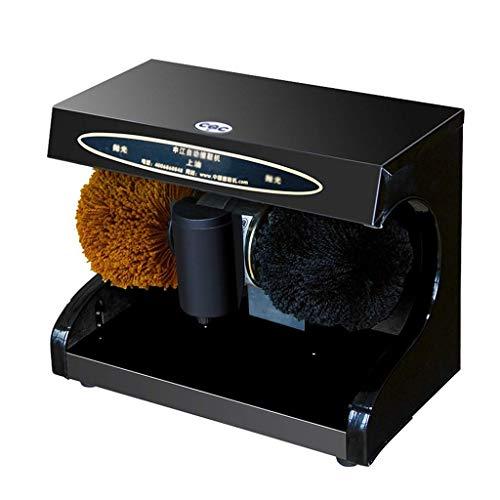 FHKBK Máquina pulidora de Zapatos Pulidora de Zapatos Inducción automática Inducción Conveniente para Limpiar la Parte Superior Ahorre Tiempo para Habitaciones de Hotel Bancos Oficinas (